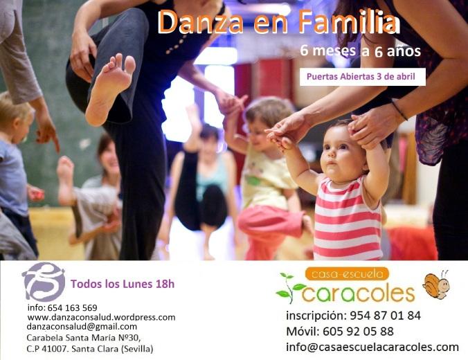 danza en familia casa escuela Caracoles