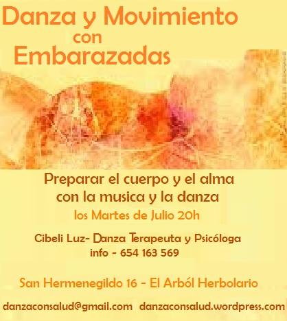 danza y movimiento para embarazadas