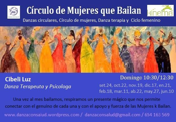 circulo de mujeres que bailan 2017